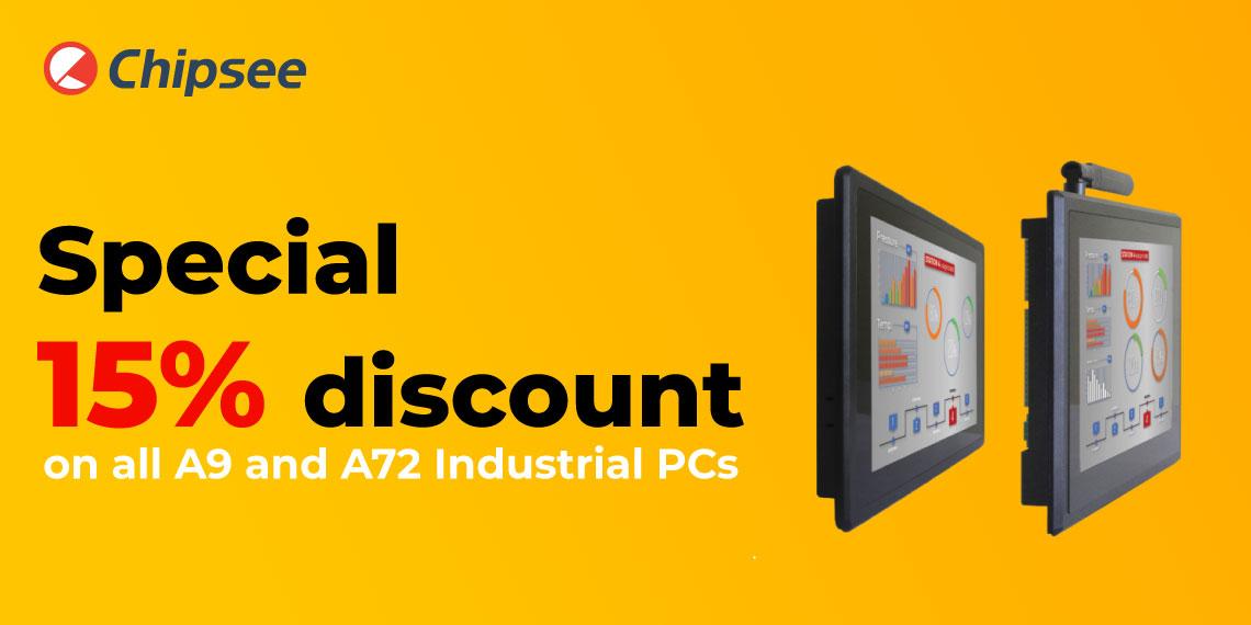 special discount 15%