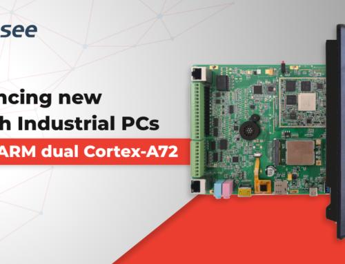 基于ARM Cortex-72双核处理器的10.1英寸工业平板电脑新品发布