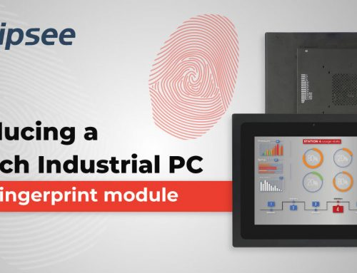 Introducing a 12.1-inch Industrial PC with a fingerprint module