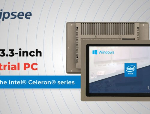 New 13.3-inch Industrial PC based on the Intel® Celeron® series