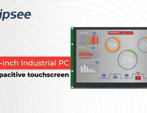 New 10.1-inch Industrial PC with a capacitive touchscreen
